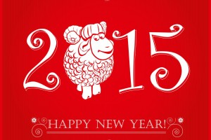 Funny-sheep-happy-new-year-2015-red-wallpaper