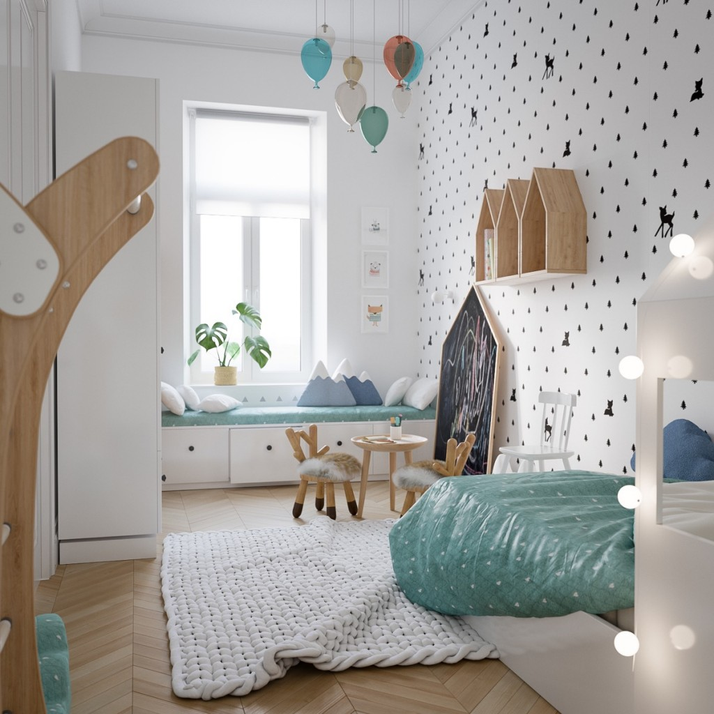 polka-dot-kids-room